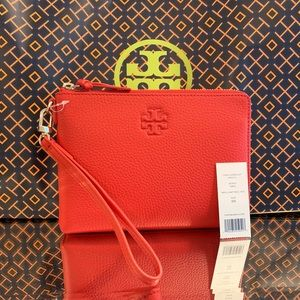Tory Burch Thea Large Zip Pouch